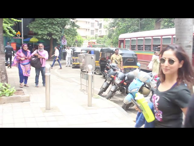 YAMI GAUTAM FOR YOGA SESSION AT DIVA YOGA BANDRA SPOTTED