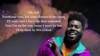 Khalid – Talk Lyrics