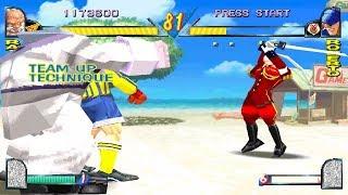 Rival Schools [PS1] - Hyo & Raizo (with both endings)