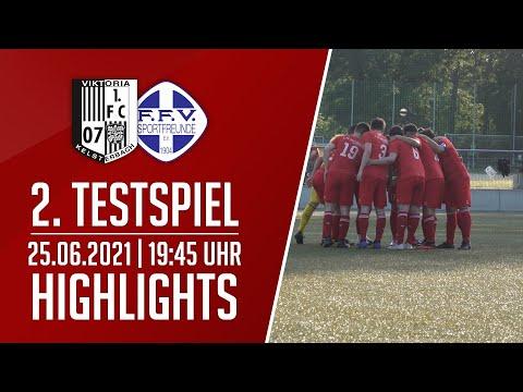 Viktoria Kelsterbach - FFV Sportfr. 04 FFM II | 2. Testspiel | Highlights | 25.06.2021