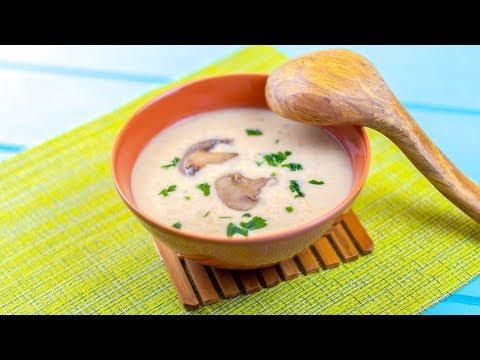 soupe-aux-champignons-exceptionnelle-et-rapide- -recettes-faciles