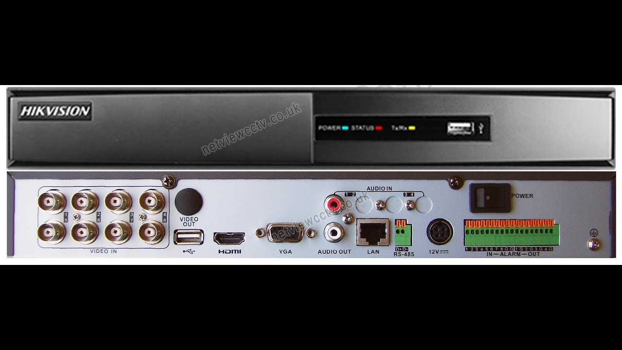 Hikvision Ds 7208hgi Turbo Dvr Hard Drive Install Demonstration How Directv Genie Wiring Diagram Two Reciver To Youtube