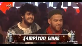 O Ses Türkiye Final | Şampiyon Emre Sertkaya oldu 03.02.2016