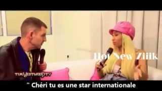 Nicki Minaj parle de la bagarre entre Chris Brown et Drake.