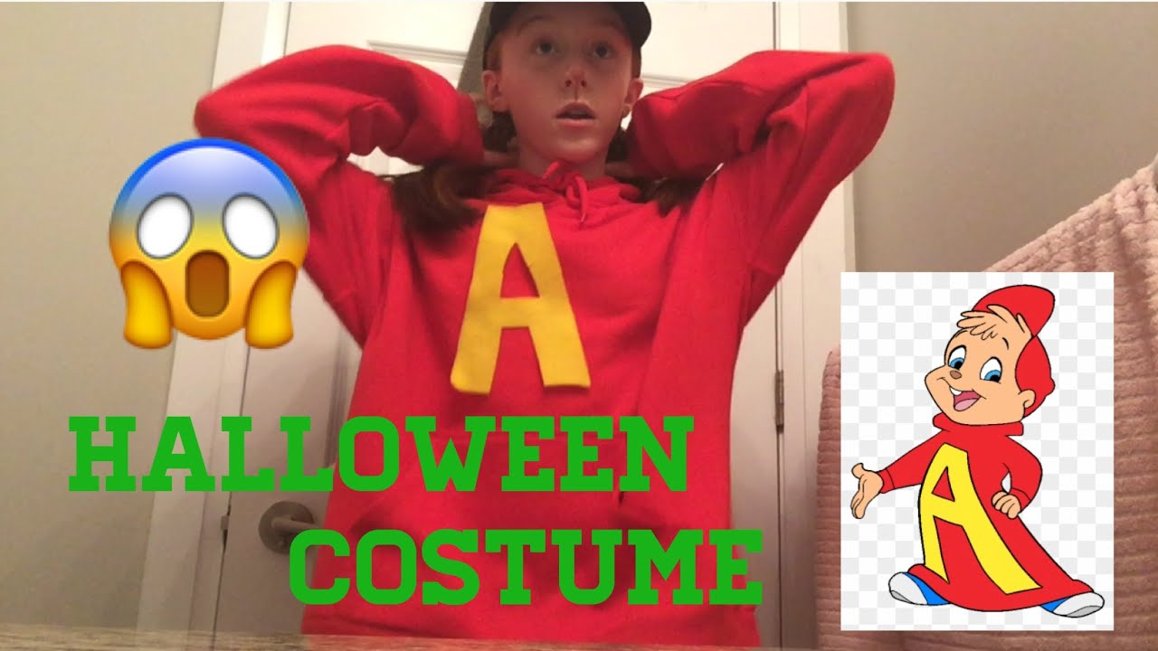 Alvin The Chipmunk Costume Diy Liyahslife Youtube
