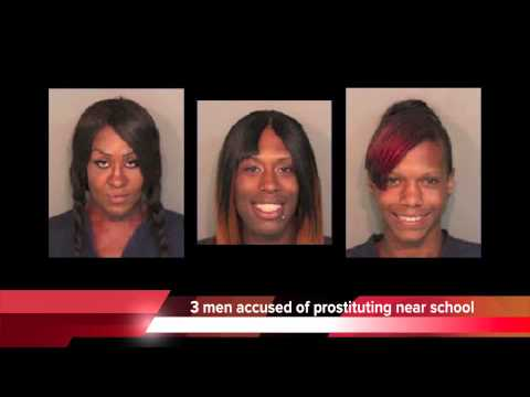 3 men in drag accused of prostitution in Tennessee