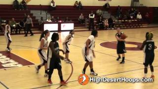Barstow vrs Victor Valley - Girls