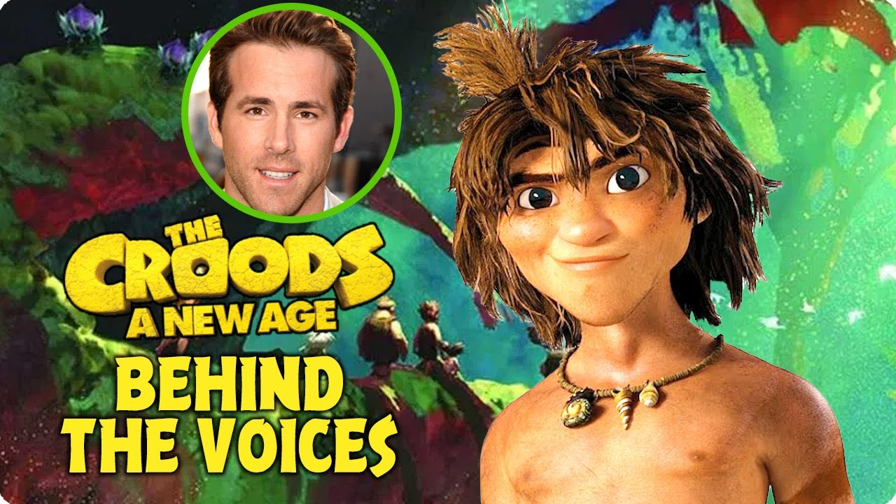 The Croods A New Age 2020 Behind The Voices Youtube