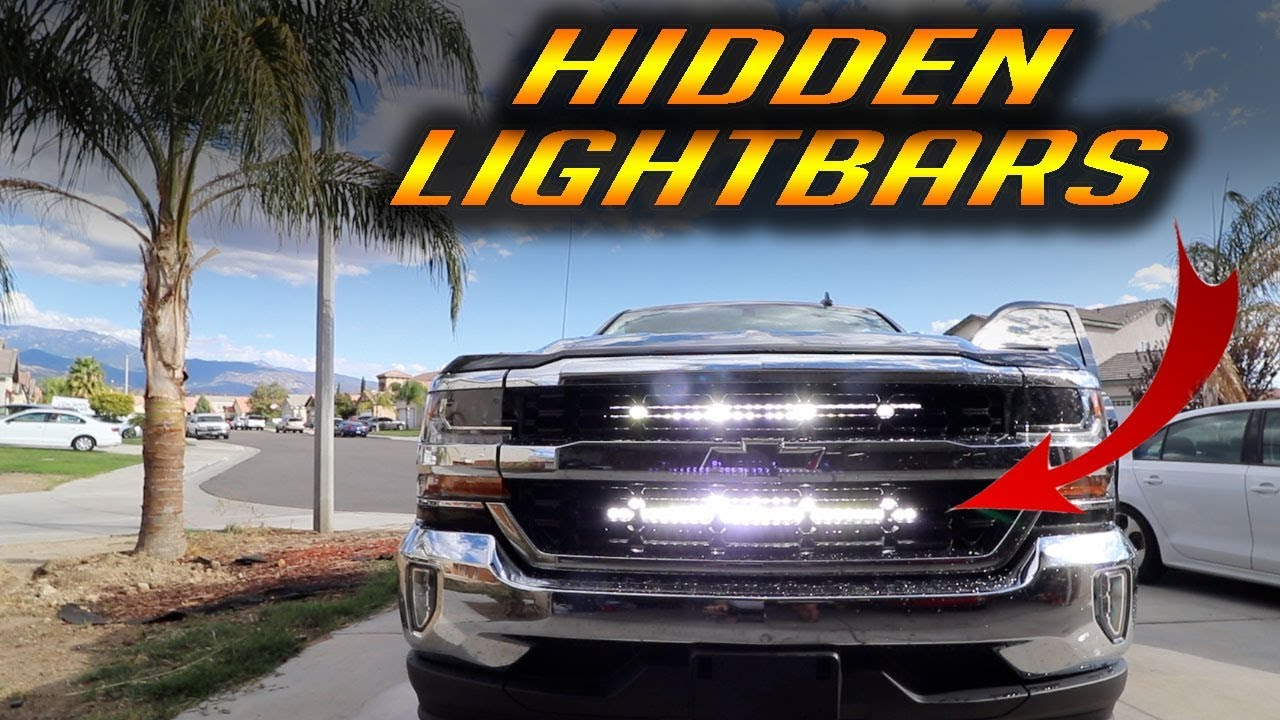 Chevrolet Silverado Light Bar Install - JDMaster - YouTube