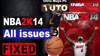 NBA 2K14 all issues FIXED (PC)