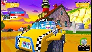 """Crazy Taxi City Rush """"Beach"""" Darling be Mime - Android GamePlay #6"""