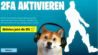 🔥 Fortnite 2 Fa Aktivieren 🔥how To: Zwei-faktor-authentifizierung 2fa Epic | Ps4 Pc Xbox Deutsch