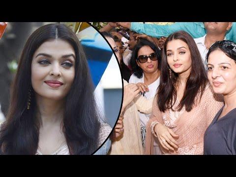 Gorgeous Aishwarya Rai Bachchan Inaugurates The Paradise Garden