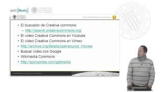 Reutilizar recursos de Internet. Buscando contenido libre: Vídeo. © UPV