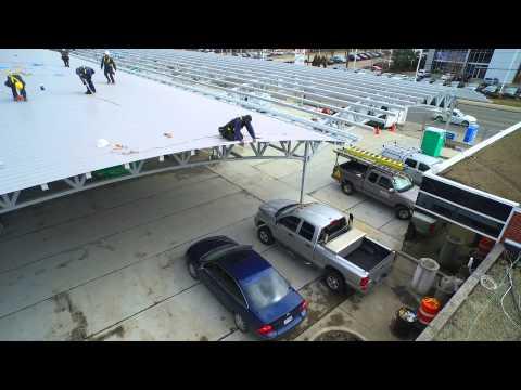 Solar Roof Panel Installation