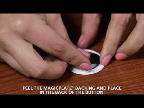 How To Install a MagicPlate on a PopSockets® grip to use with a Scosche MagicMount