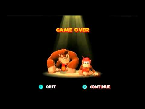 Game Over: Donkey Kong Country Returns - YouTube