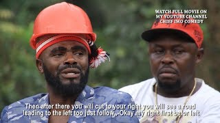 The second day chief carry ghost || see what he tell the unknown man - Chief Imo Comedy