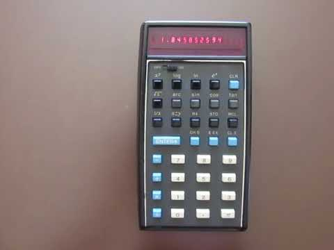 Classic HP 35 calculator comes back to life | EDN