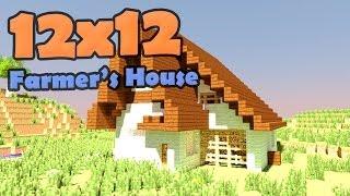 видео: Minecraft Farmer house - дом Фермера.