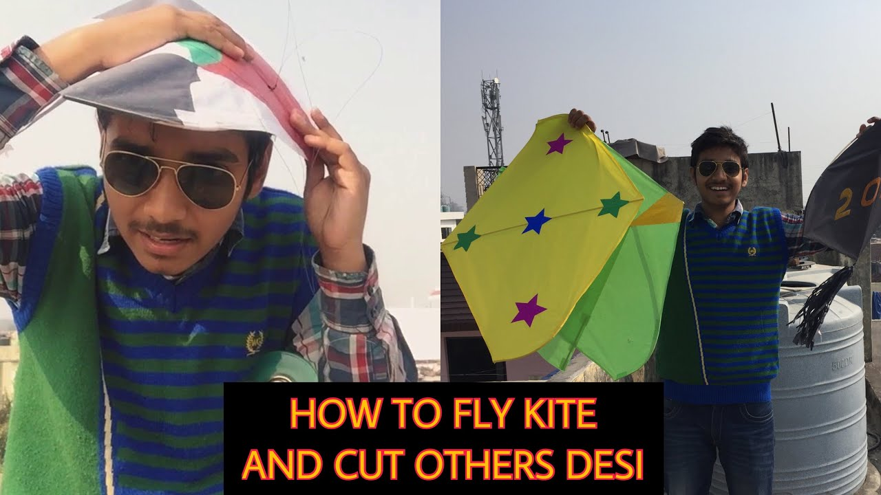 How To Fly A Kite And Cut Others Kite Kite Festival Desi