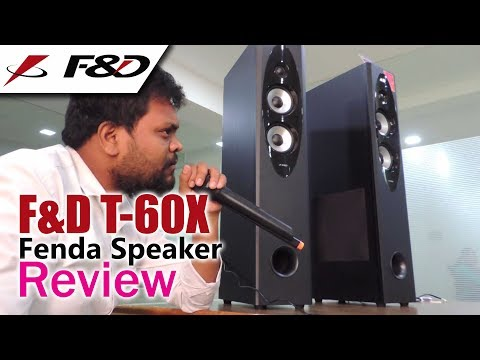 F&D T60X Tower Speaker Review with Pros & Cons | Audio, Bass & Karaoke Test