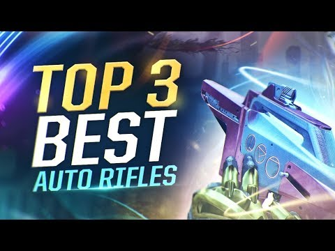 Destiny 2: TOP 3 BEST AUTO RIFLES! Perfect Weapons for PVP & PVE!