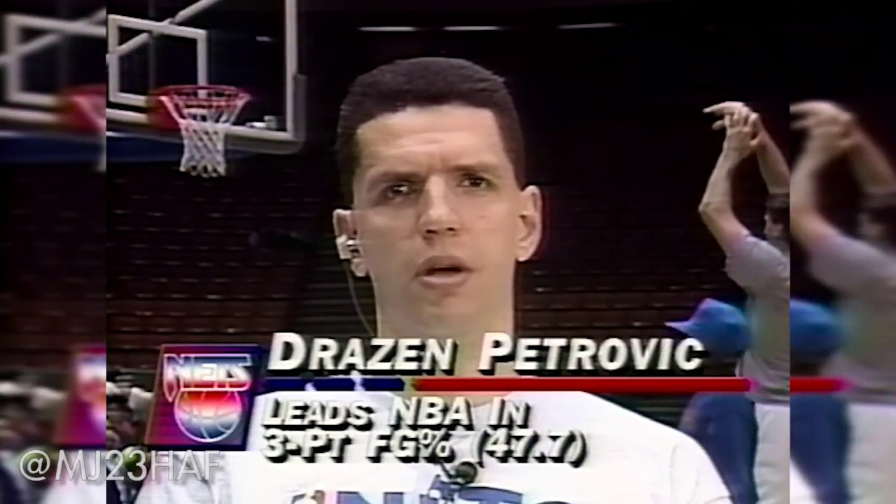db3bec40540 Dražen Petrović Rare Pre-Game Interview on TNT! (1993.03.02) - YouTube