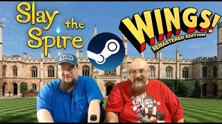 ARG Presents LIVE!  STEAM GAMES - Slay the Spire and Wings Remastered!  Ep.  88