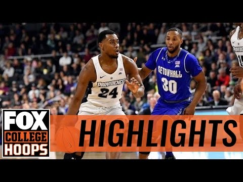 Providence Friars take down Seton Hall Pirates 65-61 | 2017 COLLEGE BASKETBALL HIGHLIGHTS