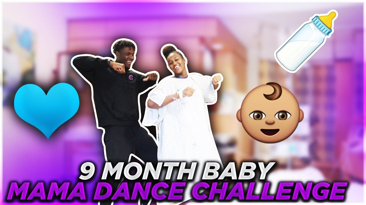 9-months-pregnant-baby-mama-challenge