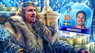 THE KING SIF 95 RATED IBRA! THE BEST ZLATAN IBRAHIMOVIC CARD IN FIFA! FIFA 17 ULTIMATE TEAM