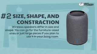 5 Tips For Buying Wireless Speakers