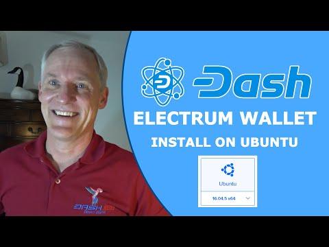 Dash Digital Cash - Install Dash Electrum Wallet On Ubuntu