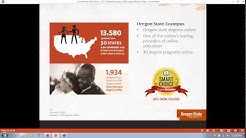 2015- Oregon State University's Community College Leadership online