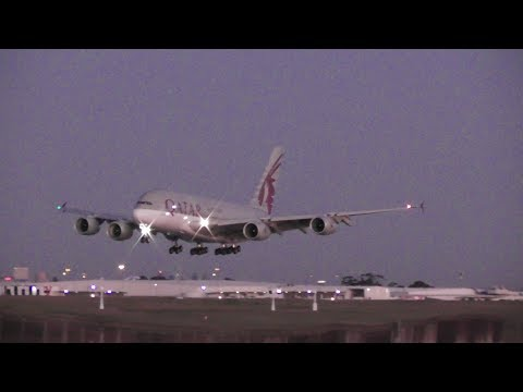 50 MINUTES  Plane Spotting at Melbourne Airport YMML 