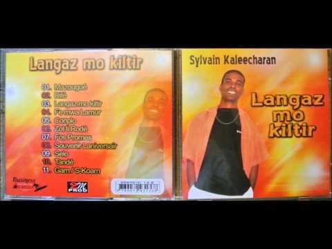 Sylvain kaleecharan... Langaz mo kiltir... île Maurice...l'album.