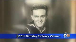 Veteran Stories - 100th Birthday for a Navy Veteran
