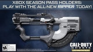Arma dos sonhos? The Ripper, a SMG-Assault Rifle! - COD Ghosts
