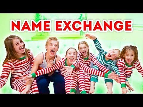 Sibling Christmas Gift Name Exchange 🎁