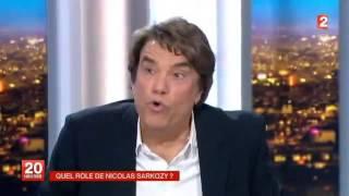 Bernard Tapie corrige David Pujadas au JT France2