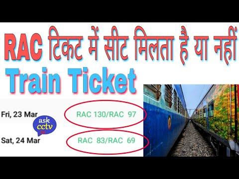 What is RAC Ticket in Hindi | RAC टिकट में सीट मिलता है या नहीं | Reo Ranjan Tech