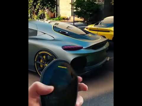 How to Embarrass a Tesla: Buy the $1.7m Koenigsegg  #Gemera  |remote sensor |AUTO #LUXURY |SOUND.
