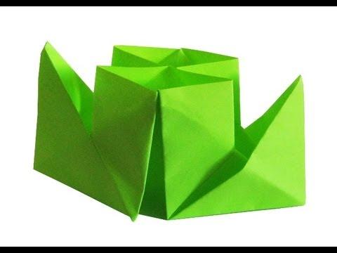Пароходик оригами