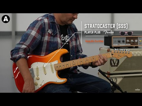 NEW Fender Player Plus SSS Stratocaster - Playing Only Demo!