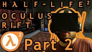 Oculus Rift DK1 - Half-Life 2 - Part 2 (1080p)