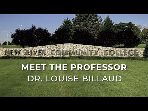 Meet The Professor: Dr. Louise Billaud, New River Community College Professor of Music