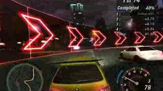 Need For Speed Underground 2 - Hidden/Secret Race #4 Sprint Beacon Hill
