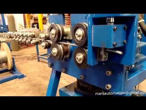 Wire Rope Straightening And Cutting Machine