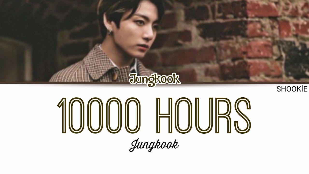 BTS (방탄소년단) Jungkook - 10000 Hours (Cover) | Kolay Okunuş